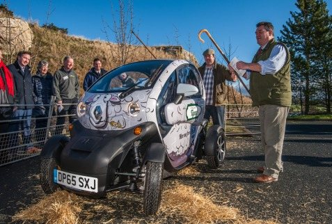 Twizy launch_ mock auction
