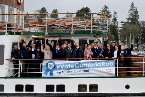 Windermere Cruises Vote Rob
