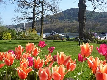 Cumbria in Bloom - Gardens at Lakeside Hotel Spa, Windermere