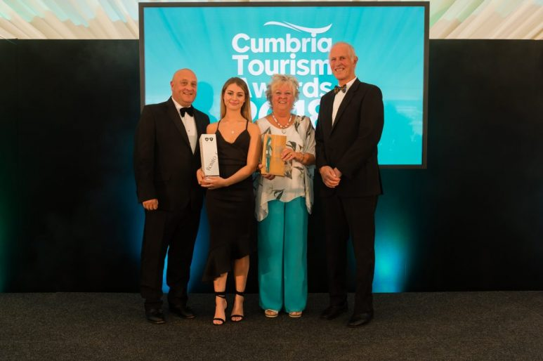 Αποτέλεσμα εικόνας για At an award ceremony, Cumbria's tourism sector showcases its best!
