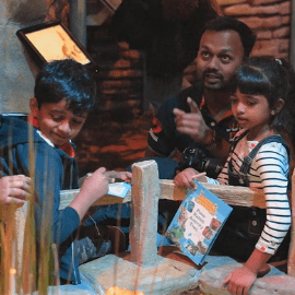 Indian visitors at The World of Beatrix Potter Attraction™